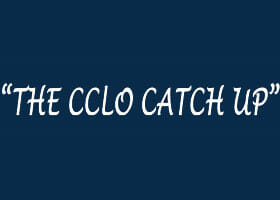 Spring Issue – The CCLO Catch Up