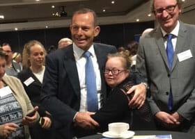 Vivien meets the Prime Minister!